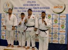 BEAL sporcusu Hüseyin Öğüt +90KG judo TC Genç Erkek Üçüncüsü 2016